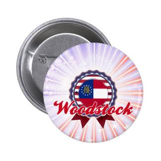 Woodstock GA Pin's Avec Agrafe