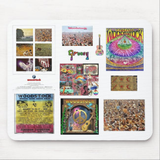 Woodstock Mousepad Tapis De Souris