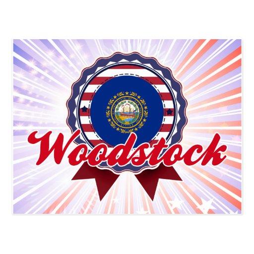 Woodstock, NH Carte Postale