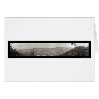 Woodstock, photo 1914 du Vermont B Carte De Vœux