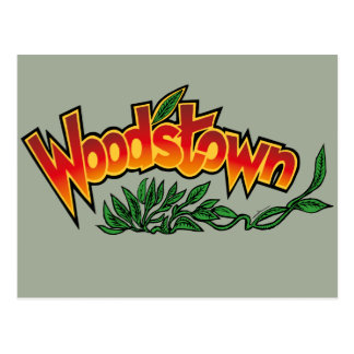 Wood'stown by Alphonse Daudet Postcard