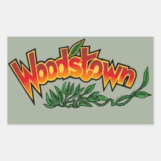 Wood'stown by Alphonse Daudet Sticker