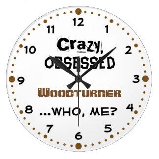 Woodturning Gift Home Decor Clock Crazy Woodturner