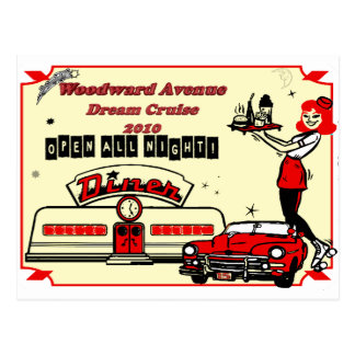 Woodward Avenue Celebration 2010 Postcard