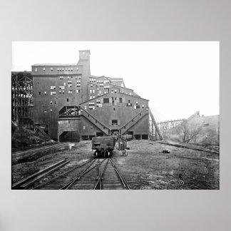 Woodward Coal Breaker Kingston Pa. Print