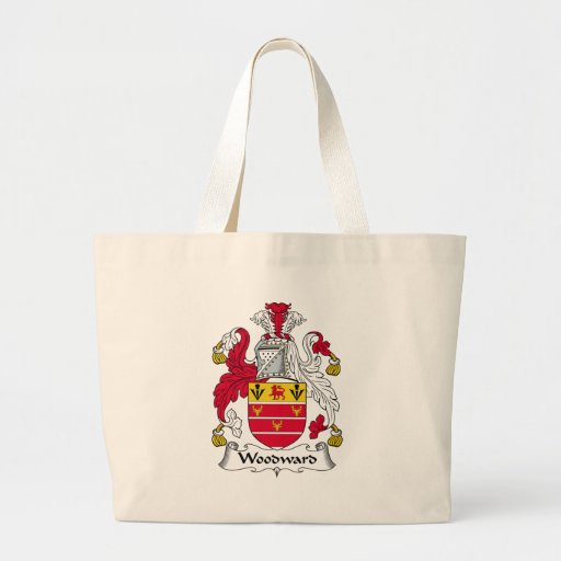 Woodward Family Crest Tote Bags