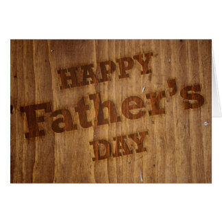Woodworker Father's Day Card