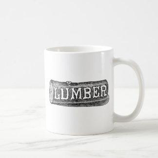 Woodworker Lumber Log Graphic Coffee Mug