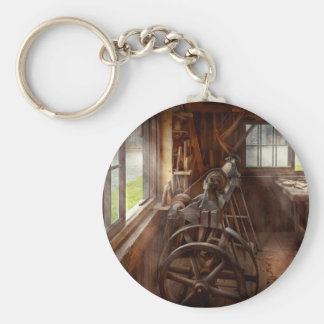 Woodworker - The art of lathing Keychain