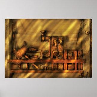 Woodworker - Wood Working Tools Print