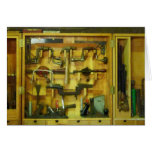 Woodworking Tools Greeting Card