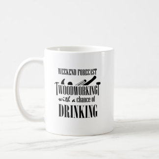 Woodworking Woodworker Funny Gift Coffee Mug