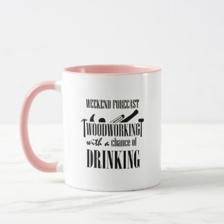 Woodworking Woodworker Funny Gift Mug