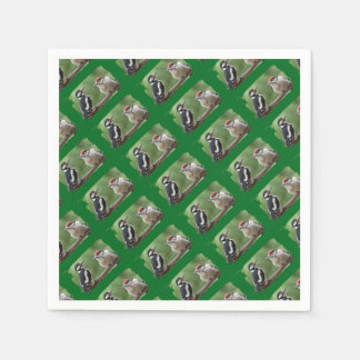 Woody Family - Photography Jean Louis Glineur Paper Napkin