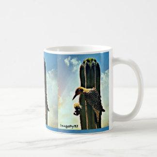 Woody On Saguaro Coffee Cup/Mug Coffee Mug