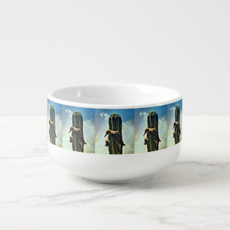 Woody on Saguaro Soup Mug
