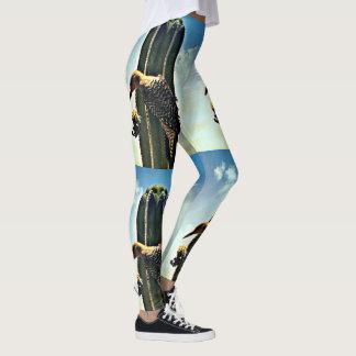 Woody on Saguaro Women's Custom Leggings