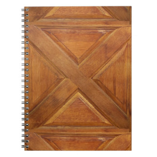 woody spiral notebook