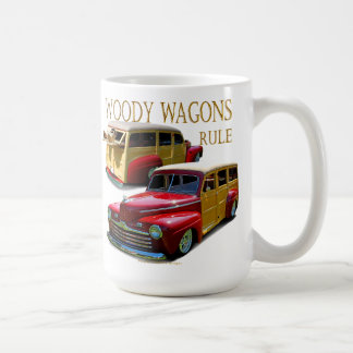 Woody wagons rule coffee mug
