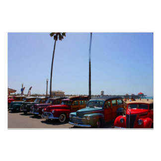 Woody's At Huntington Beach Pier Poster
