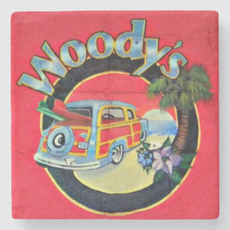 Woody's Pizza, Folly Beach, South Carolina Coaster