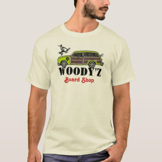 WOODY'Z Board Shop T-Shirt