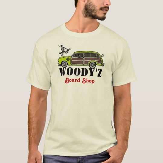WOODY'Z Board Shop T-Shirt