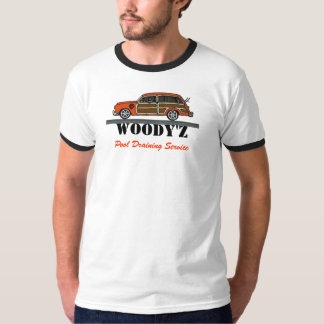 WOODY'Z Pool Draining Service 2 T-Shirt
