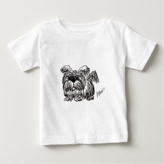 Woof A Dust Mop Dog Baby T-Shirt