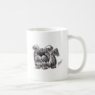 Woof A Dust Mop Dog Coffee Mug