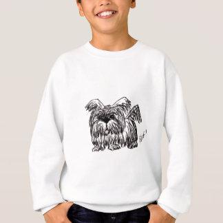 Woof A Dust Mop Dog Sweatshirt