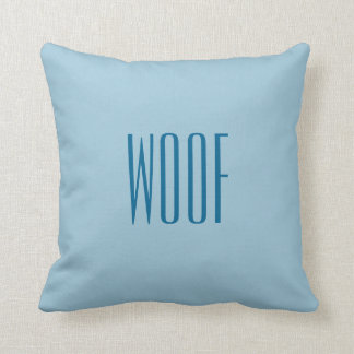 Woof and Bow Wow Pillow