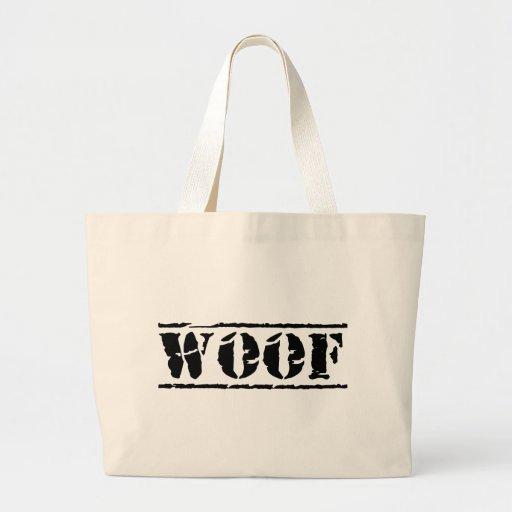 WOOF CANVAS BAG
