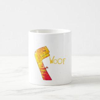 woof basic white mug