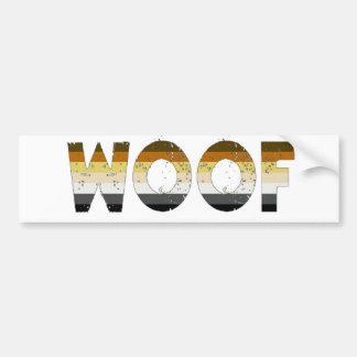 Woof! Car Bumper Sticker