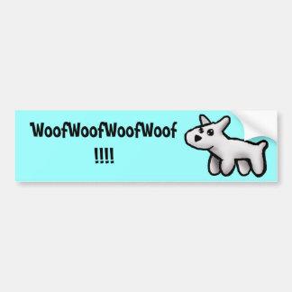 Woof! Bumper Sticker