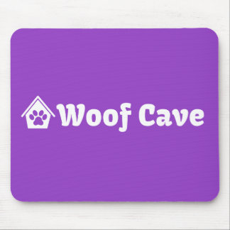 Woof Cave Mouse Pad