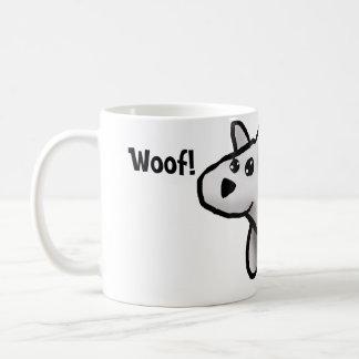 Woof! Classic White Coffee Mug