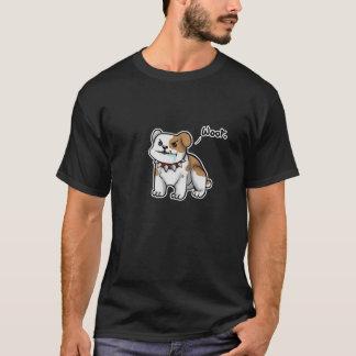 """""""Woof"""" Cute Bulldog T-Shirt"""