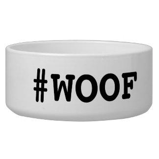 #woof Dog Food Dish Pet Bowls