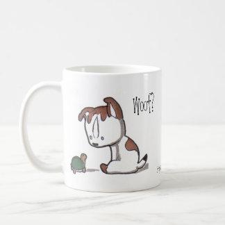 Woof? Meow! Kitty & Puppy Mug!