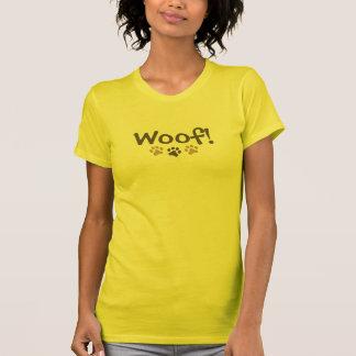 Woof! Paw Print T-Shirt
