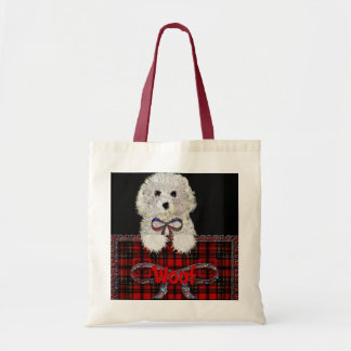 """""""Woof"""" Puppy dog Tote bag*"""