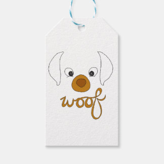 Woof Said the Puppy Pack Of Gift Tags