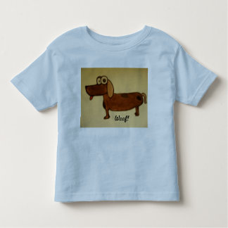 Woof! Toddler T-shirt