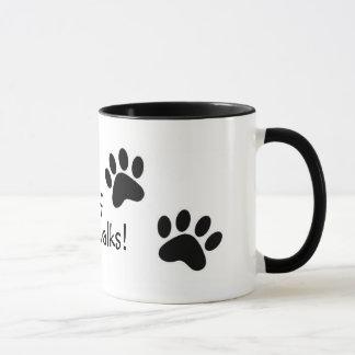 woof walks! mug