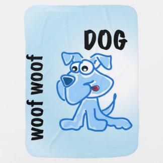 woof woof dog blankie baby blankets