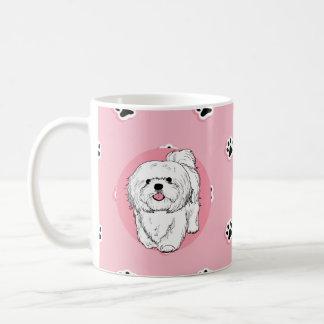 woof! woof! Lhasa apso Coffee Mug
