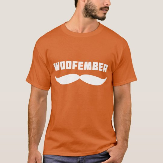 Woofember Logo Tee (orange)