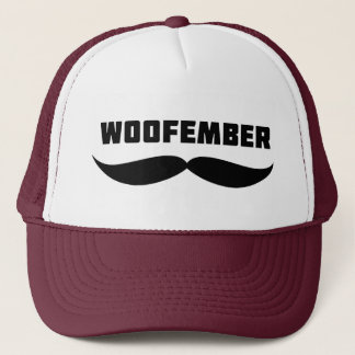 Woofember Trucker Hat (burgundy)